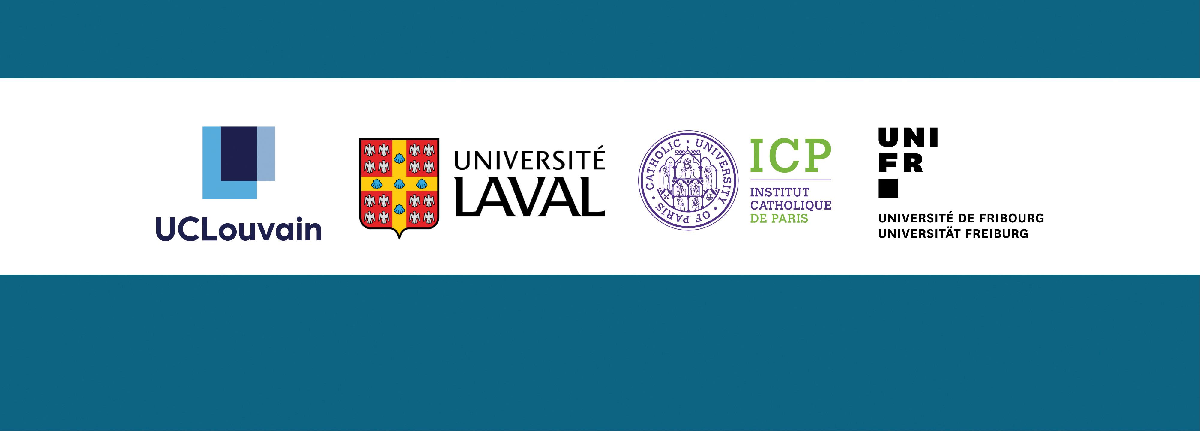 un partenariat entre l'UCL, l'UL, l'ICP et l'UniFR